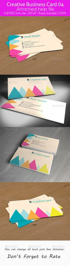 Creative Business Card 04 by SelenaParker.deviantart.com on @deviantART