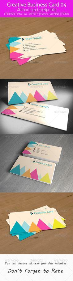 Creative Business Card 04 by SelenaParker.deviantart.com on @deviantART
