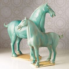 turquoise tang horses