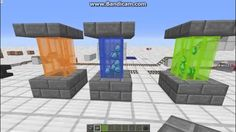 lava lamps in vanilla survival minecraft! cool decoration for your house!