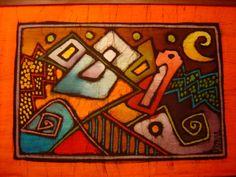 Cruz Diablo - Batik y cerámica : Punta del Diablo, Rocha Uruguay |Portal