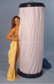 Image result for build a camping shower shelter