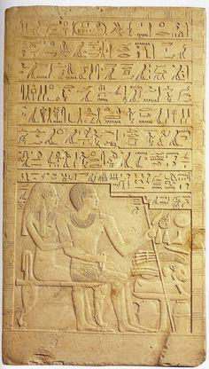 estela funeraria de Amenemhat.