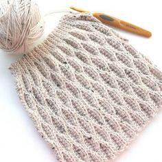 3D Crochet - preciso achar a maneira de fazer este ponto