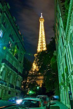 Last night in Paris.