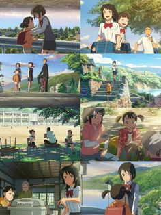 Mitsuha and Yotsuha - Kimi no na wa