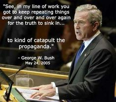 GW Bush: Worse President EVER! Sheeple voted FOR him twice!