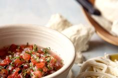 Pico de Gallo: Fresh Tomato Salsa recipe   Chef Roberto Santibañez, the chef/owner of Fonda in Brooklyn, New York shared this recipe as part of a festive taco party menu he created for Epicurious. He recommends serving this salsa with his Carnitas or Carne Adobada Tacos.