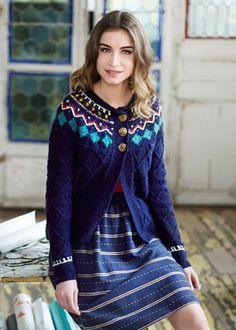 People Tree | Alice Fairisle Cardigan
