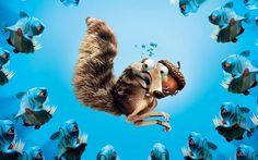 Scrat, de A Era do Gelo: o esquilo-dente-de-sabre obcecado por sua noz rende algumas das situações mais surreais e engraçadas da série de filmes A Era do Gelo. Scrat também ganhou dois curta-metragens próprios.