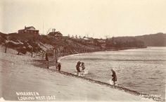 Narrabeen looking west,in the Northern Beaches region of Sydney (year unknown). Avalon Beach, Historical Architecture, North Shore, Old Photos, Sydney, Past, Surfing, Australia, Beaches