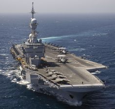 "French carrier Charles de Gaulle (R91) will shortly leave for Indian Ocean for exercises & potentially join air war against ISIS.Quoting French defense ministry source,Reuters reported 42,000ton nuclear carrier would deploy for exercises in Indian Ocean & asked if joining anti-ISIS fight said,""It's a military tool.It's purpose is to be used.""Maritime news site-Mer et Marine-reported de Gaulle led battle group-of fleet oiler,2 guided missile frigates & attack submarine-being prepped to…"