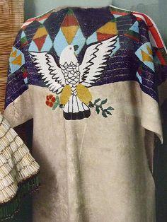 Native American Beaded Tunic Columbia Plateau by mharrsch, via Flickr