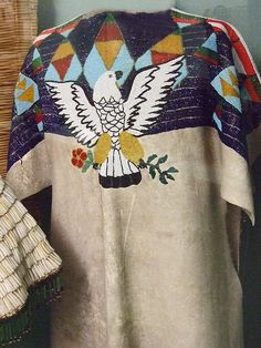 Native American Beaded Tunic Columbia Plateau by mharrsch, via Flickr