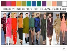 color trend report fall-winter 2013-2014