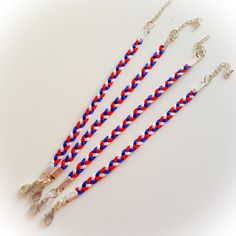 Spécial coupe du monde - Bracelet SIMPLY bleu/blanc/rouge