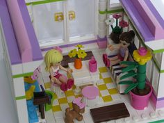 Emma's Garden Room lego friends