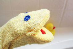 Washcloth Hand Puppet