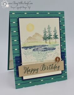 Stampin' Up! Waterfront Birthday Card & Clearance Rack Update! – Stamp With Amy K