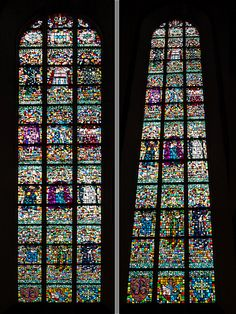 Church windows in Warszawa