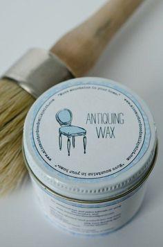 Image of Miss Mustard Seed's Milk Paint - WAX, Bonding Agent, Crackle, Etc.