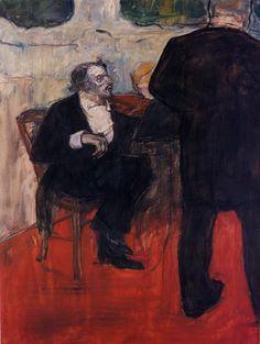 The Violinist Dancia - Henri de Toulouse-Lautrec