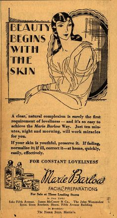 Beauty Begins With The Skin
