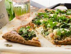 Bärlauch-Pizza