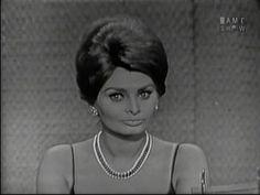 What's My Line? - Sophia Loren; Johnny Carson [panel] (May 28, 1961) - YouTube