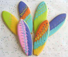 Surfboard Cookies~        By Lori's Place, multi surf board