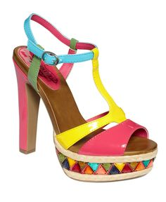 Unlisted Shoes, Carry On Platform Sandals