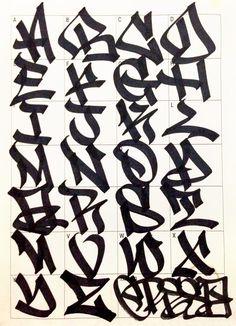 Graffiti Letters 61 graffiti artists share their styles Bombing Science Бядffιттι Artists Bombing Graffiti Letters Science share styles Бядffιттι is part of Graffiti lettering - Graffiti Alphabet Styles, Graffiti Lettering Alphabet, Graffiti Words, Graffiti Writing, Tattoo Lettering Fonts, Graffiti Tagging, Graffiti Designs, Graffiti Styles, Lettering Styles