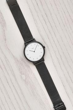Gunmetal / Mesh Watch by VERK - Scandinavian timekeeping, designed for perfection | Verkstore.com @Verkwatches