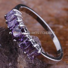 Cheap ring bug, Buy Quality ring logo directly from China ring trick Suppliers: PRODUCT DETAIL Ring Logo, 925 Silver, Silver Rings, Cheap Rings, Size 10 Rings, New Fashion, Gifts For Women, Jewlery, Amethyst