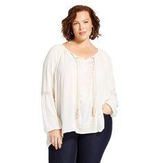 Women's Plus Size Woven Blouse w
