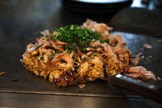 Where to eat in Shimokitazawa, Tokyo | Daikonman I Amazing okonomiyaki! http://www.tonicandsoul.com/eat-shimokitazawa-tokyo/