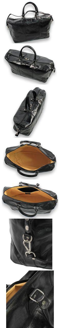weekendtas tas tassen weekendbag real leather echt leer black zwart groot big shop now at safekeepers