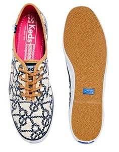 Image 3 of Keds Champion Knot Plimsoll Trainers