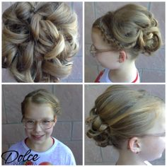 Kyle did this special occasion style for a special little doll at the Chandler location! <3