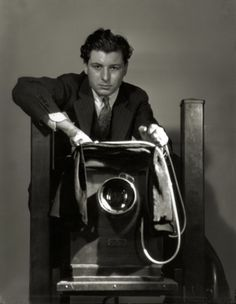 George Hurrell, Self-Portrait    The master of lighting..                                                                                                                                                                                 More