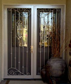 Our Beautifully Crafted Security Doors Offer Peace Of Mind, As Well As An  Artistic Touch With Designs To Fit Any Décor And Budget, Including The  Broadest ...