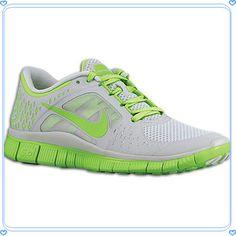 80c2abc1a433 Nike Free Run + 3 - Women s - Grey   Light Green