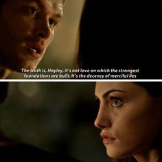 "#TheOriginals 2x10 ""Gonna Set Your Flag on Fire"" - Klaus and Hayley"