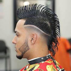 #SUAVE Pinterest - @houstonsoho | Best #MOHAWK of 2016 Haircut by #beboprbarber