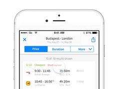 Pull to refresh animation for Skyscanner by daniel feles