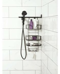 Beau Make A Space Shower Caddy Uses The Space Ti Tge Side Of The Shower