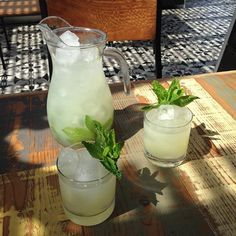 Aqua Fresco - Sorry, sangria. We have a new favorite fruity daytime drink.