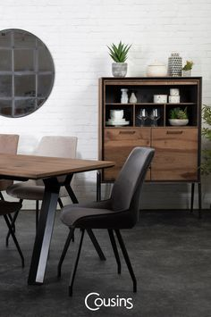 Home and interiors inspiration, latest trends, news and ideas to really make the most of your home. Dining Set, Dining Chairs, Dining Table, New Furniture, Furniture Design, Industrial Style Furniture, Abandoned Mansions, Interior Inspiration, Beautiful Homes