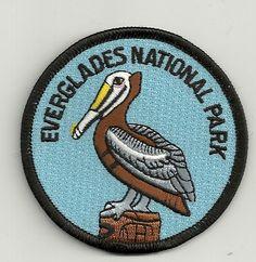 Souvenir Patch Everglades National Park Pelican | eBay