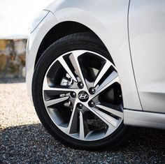 We're celebrating #WheelWednesday with this head-turning Hyundai! Do you know which 2016 #Hyundai this wheel belongs to?